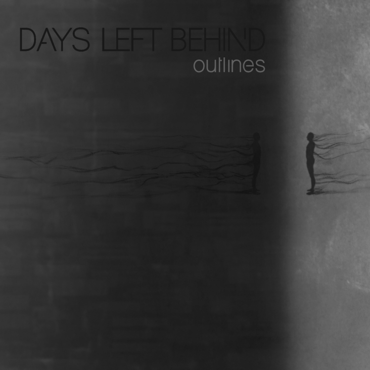Days Left Behind - Outlines - cover